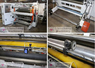 1300R High Speed Label Slitter Rewinder Machine With Slipped Air Shafts