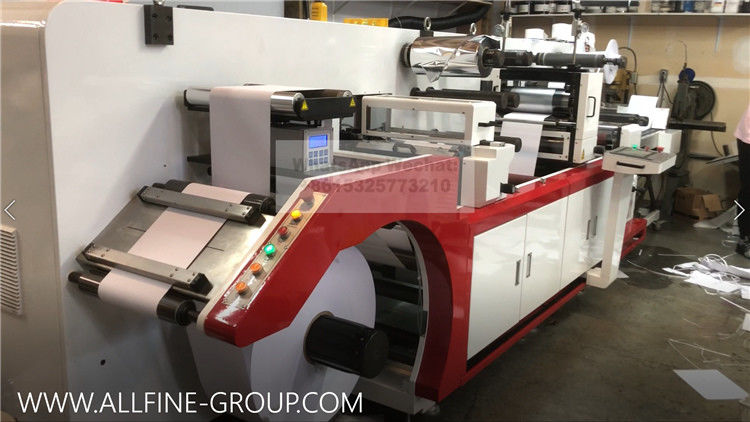 High Speed Small Automatic Stacker Label Die Cutting Machine For Paper Collecting