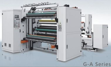 Automatic Tension Control Paper Roll Mesin Slitting & Rewinding Unwinding Paper Core Dia 3/6 ″